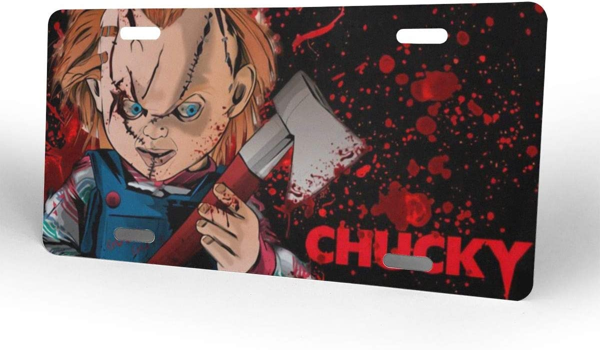 WINTERSUNNY Chucky Childs Play License Plate 6 X 12