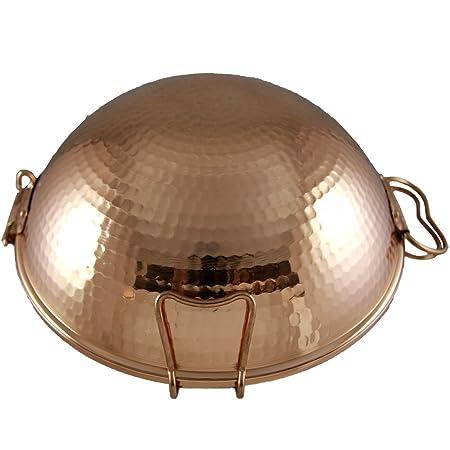 Fabricado en Portugal tradicional cobre Cataplana: Amazon.es: Hogar