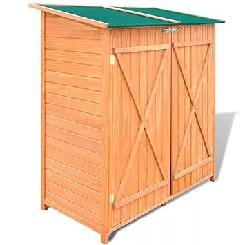 xings huoon Line Cobertizo caseta jardín Armario Dispositivo Dispositivo Mueble Jardín Cobertizo: Amazon.es: Jardín
