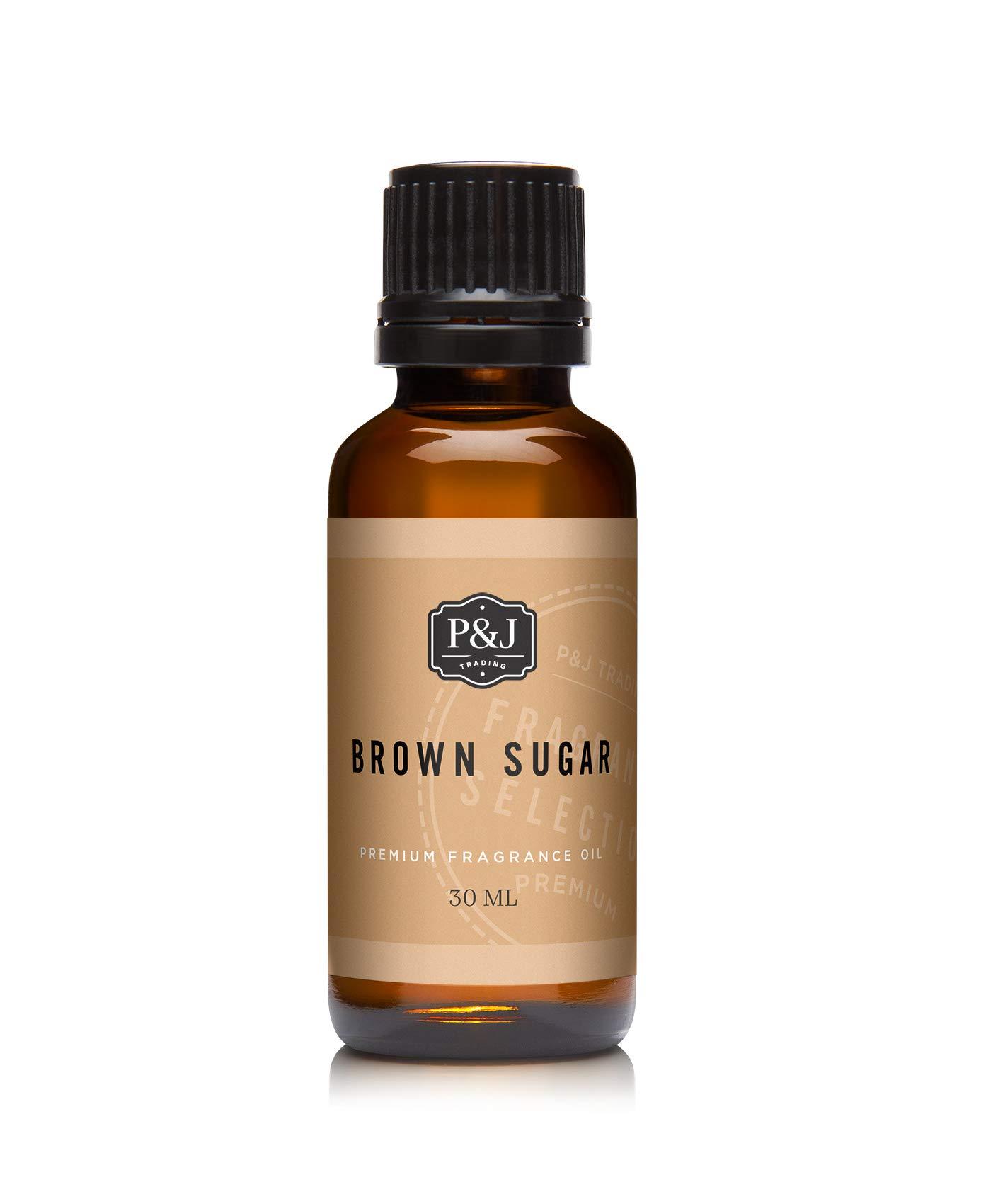 P&J Trading Brown Sugar Premium Grade Fragrance Oil - Perfume Oil - 1oz/30ml
