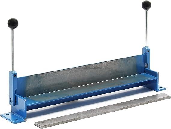 Máquina plegadora manual chapa 760 mm Dobladora placas acero hojalata Herramienta taller Bricolaje: Amazon.es: Bricolaje y herramientas
