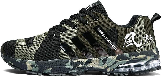 Zapatos de Running para Hombre Mujer Zapatillas Deportivo Outdoor ...