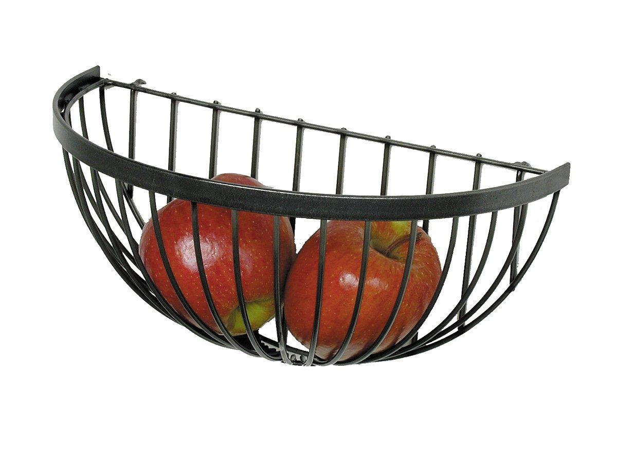 Enclume Wire Fruit Basket, Hammered Steel