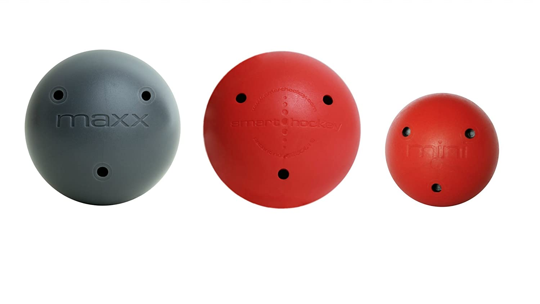 12 Pack Proguard Mini Foam Ball Red//Black Mixed