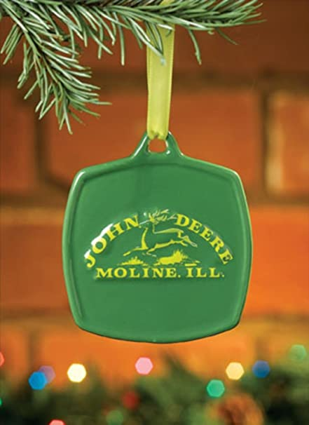 Encore John Deere Christmas Ornament 1876 Vintage Logo #615862 - Amazon.com: Encore John Deere Christmas Ornament 1876 Vintage Logo