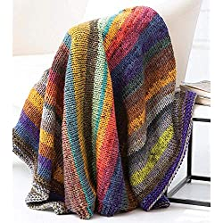 Lion Brand Egg Harbor Afghan Kit