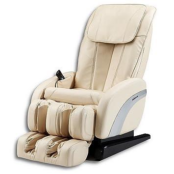 Home Deluxe Massagesessel Sueno Beige V1 Inkl Komplettem