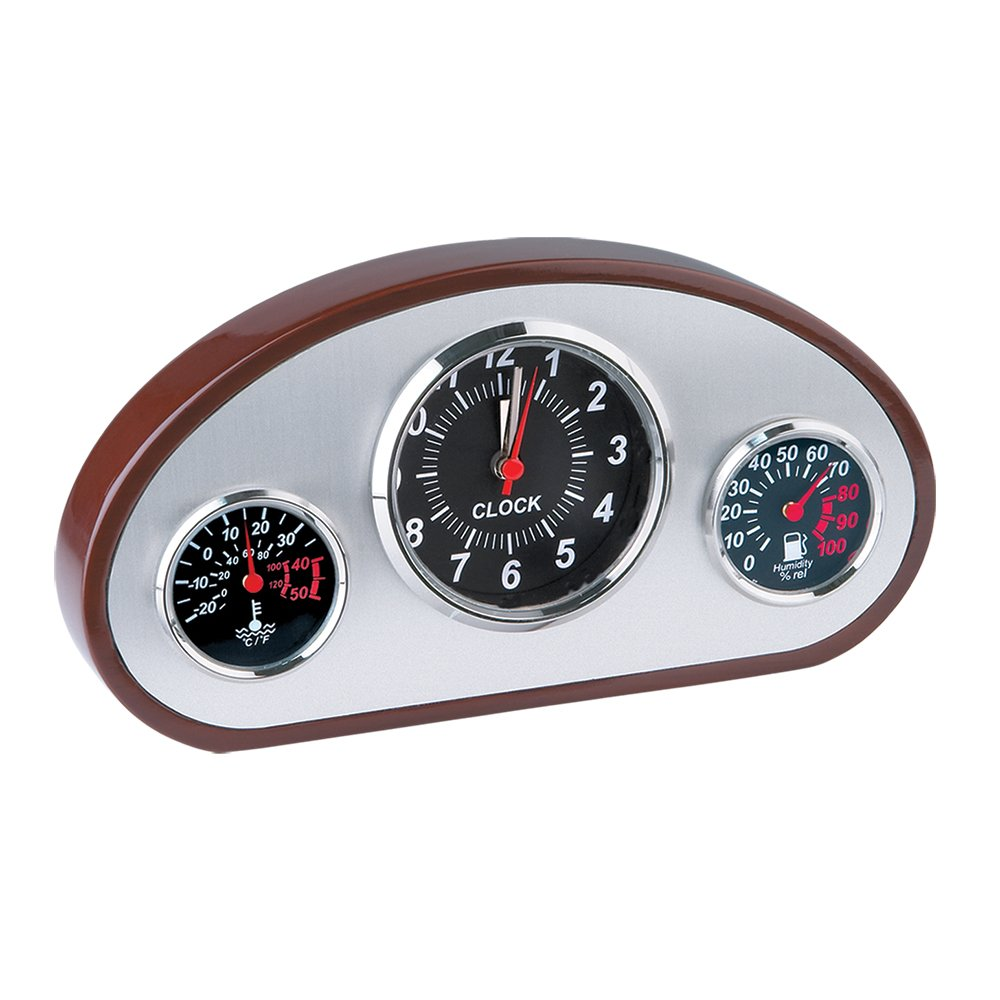 Dashboard Weather Station Clock by Design Gifts