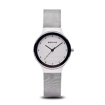 BERING Reloj Analógico para Mujer de Cuarzo con Correa en Acero Inoxidable 12934-000: Amazon.es: Relojes