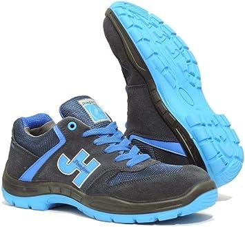 J Hayber Works - Calzado de seguridad Casual sport Style S1P SRC MARINO - AZUL JHayber: Amazon.es: Bricolaje y herramientas