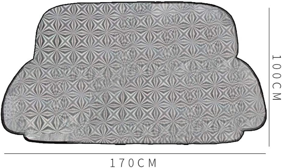um Ihr Fahrzeug k/ühl und unbesch/ädigt zu halten Blockieren Sie das UV-Visier FXL Auto-Windschutzscheibenabdeckung Auto-Schutzscheibe Sonnenschutz Wasserdichter Anti