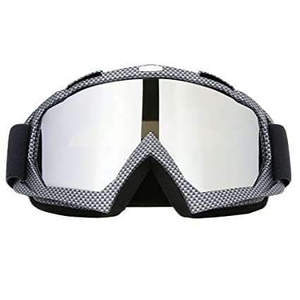 66205aede4 JAMIEWIN Professtional Adult Motorcycle Motocross Dirt Bike ATV Goggles OTG Goggle  for Men Women Youth Kids