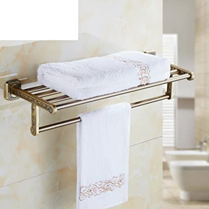 european style towel rack antique towel rack engraved bathroom