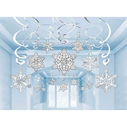 Snowflake Cutouts Value Pack 30 Ct