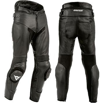 info pour 78b8a 3ea09 Amazon.fr : Dainese Pantalon moto en cuir et Kevlar, unisexe ...