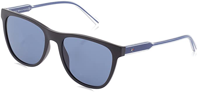 Tommy Hilfiger Gafas de sol TH 1440/S 9A Bk Blueviol, 54 ...