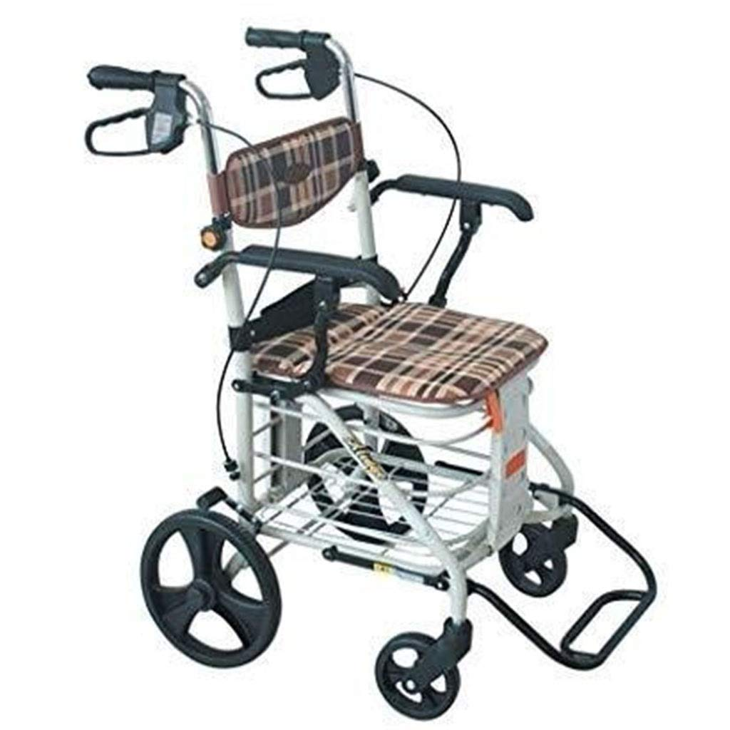 LWDDT Carro De Ancianos Portátil, Plegable Compras Ocio Simple ...