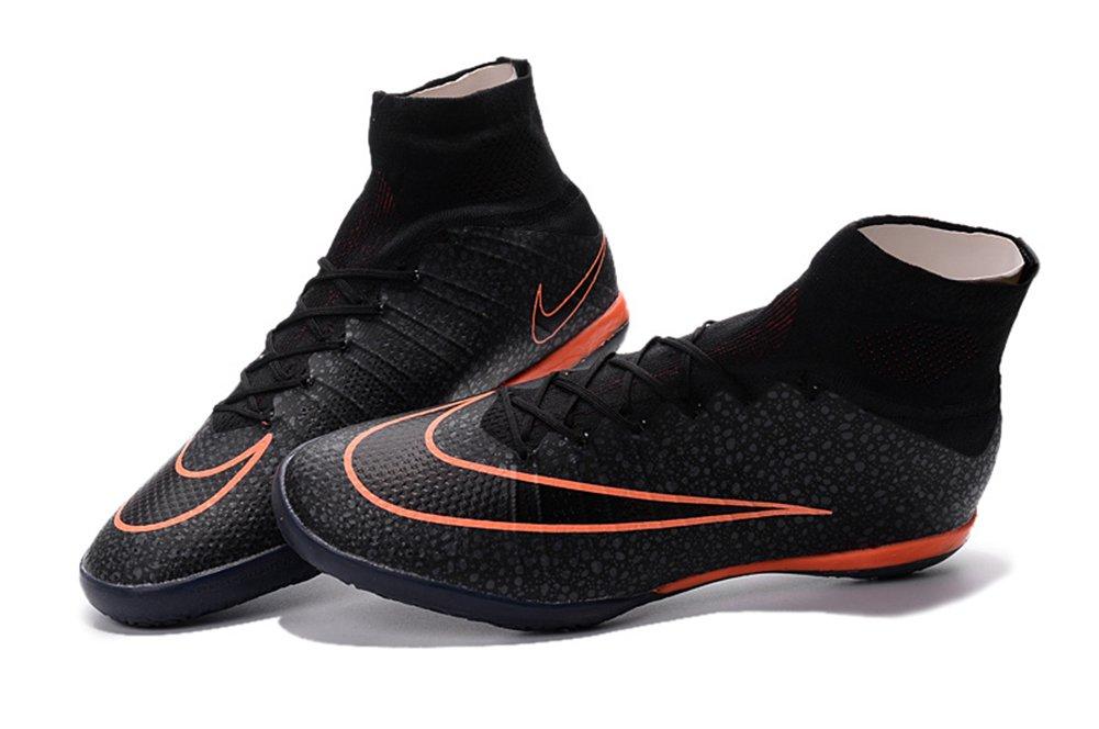 Deosetly Schuhe Herren mercurialx Proximo Street Fussball Indoor Schwarz Fußball Stiefel