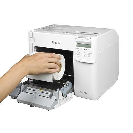 Epson tm-c3500 - Impresora de Etiquetas (inyección de Tinta ...