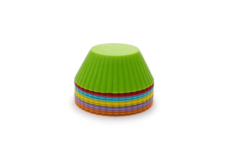 Fox Run 48162 Standard Silicone Bake Cup 12 Count Multi-Color