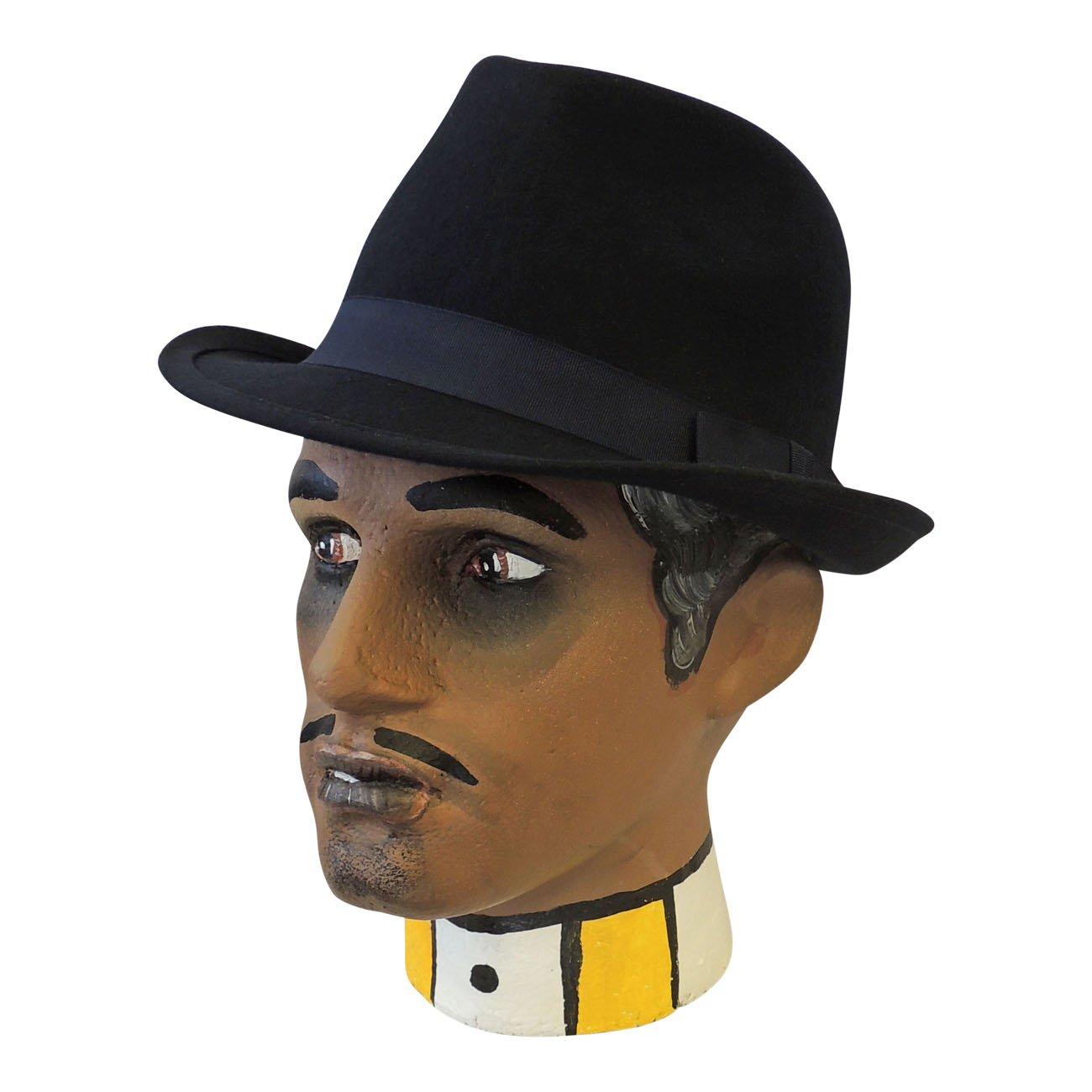59aee389a1cab4 Viva-la-Rosa Men's Classic 1930's 1940's VTG Style Wool Felt Gangster Mafia  Trilby Hat: Rosa Rosa: Amazon.co.uk: Clothing
