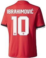 Man Utd Home Trikot 2017 2018 + Ibrahimovic 10 (Pokal Beflockung)