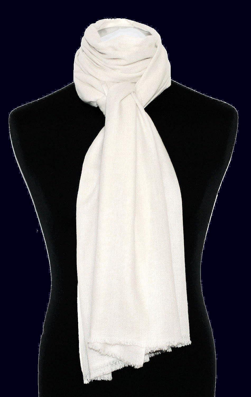 Lorenzo Cana Luxus Damen Pashmina Schal Schaltuch 100/% Kaschmir leicht kuschelweich Kaschmirschal Kaschmirtuch Kaschmirpashmina einfarbig