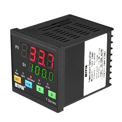 KKmoon LED Digital Autom醫ico PID Controlador de Temperatura Term髆etro SNR 1 Salida