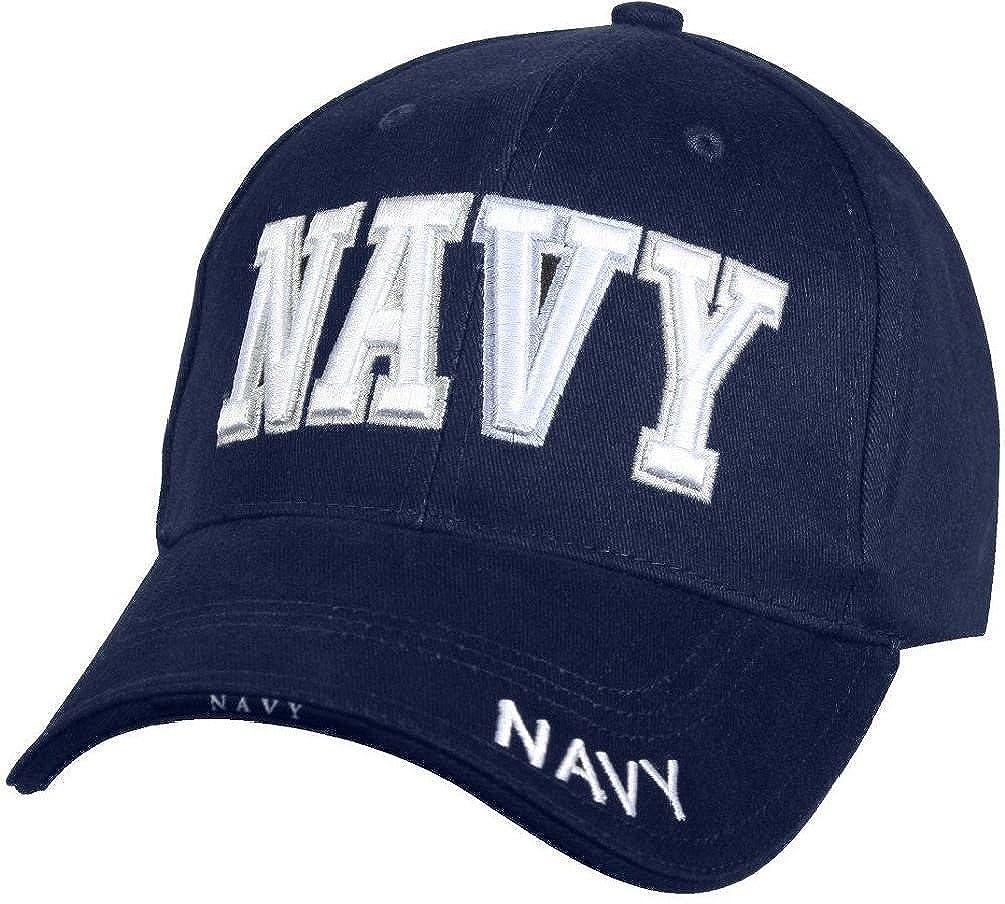 Deluxe Navy Blue  Navy  Hat Military Deluxe Low Profile Adjust Cap