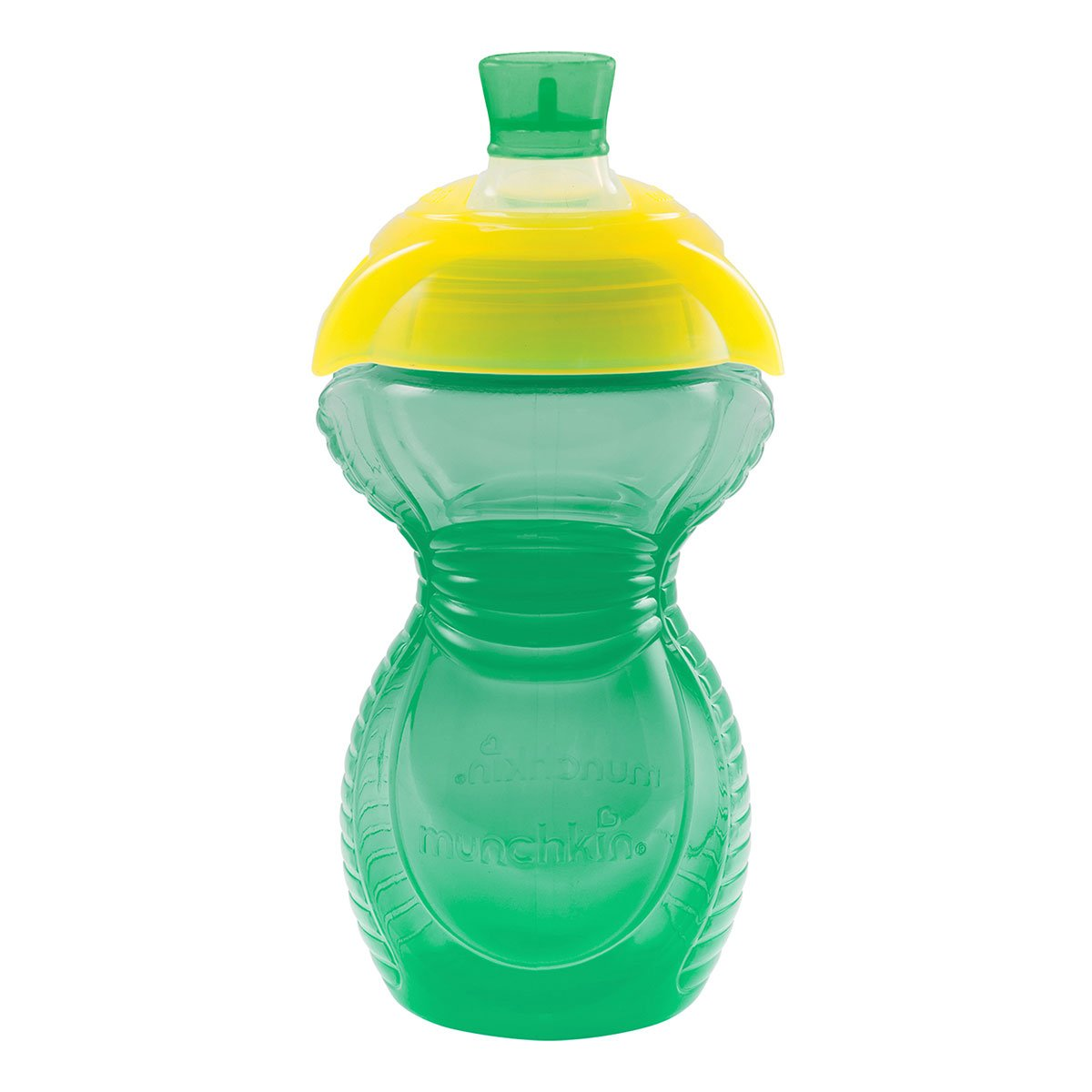 Munchkin Click Lock 9-Ounce Bite Proof Sippy Cup, Blue, Yellow, Green, Pink 44166