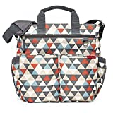 Skip Hop Baby Duo Signature Diaper Bag, Triangles, Multi