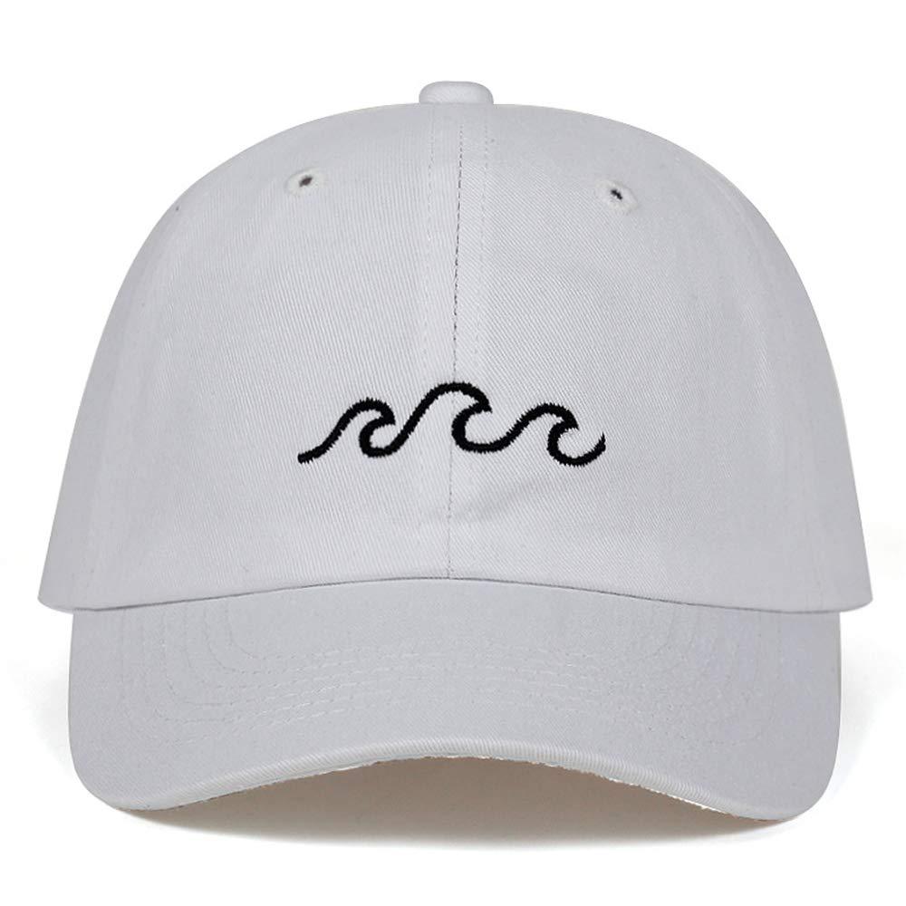 zhuzhuwen Sombreros Bordados de la línea de Olas de la línea de ...