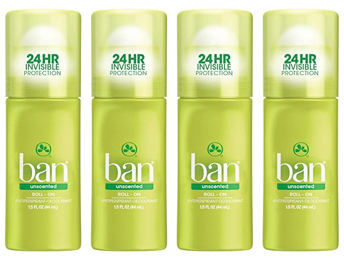 Ban Antiperspirant Unscented Deodorant