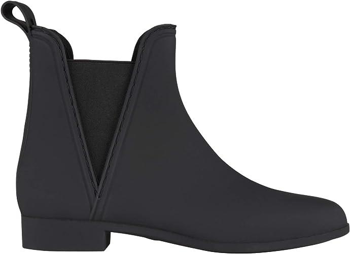 KRISP Matte Wellington Chelsea Boots