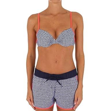 Xinvision Femmes Maillots de Bain 2 Pièces Impressions Florales Taille haute Ensemble de Bikinis Swimwear Tankini Swimming Suit Vente Pas Cher Le Plus Grand Fournisseur EefzwCFmEk