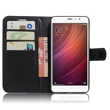 Funda Xiaomi Redmi Note 4, Panphy Tapa de Cuero de La PU Case de ...