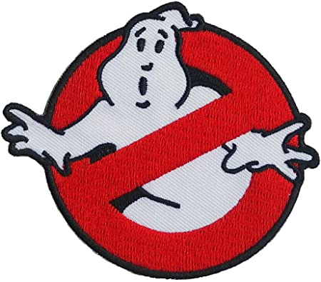 Zombie,Radio active Power Energy Iron//Sew on Patch Applique Badge Ghost Busters