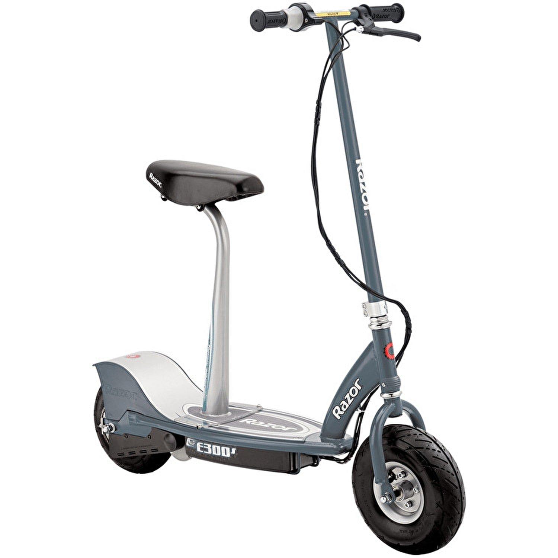 Razor E300s Scooter - Grey - Patinete con Silla, Color Gris ...