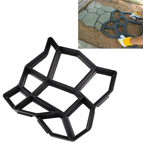 Fenghezhanouzhou Cemento Manual del Camino concreto del Molde Molde plástico del pavimento del jardín del Molde
