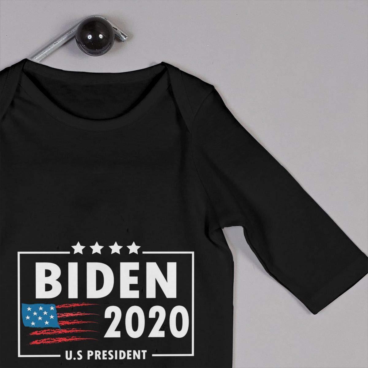 Joe Biden for President 2020 Newborn Baby Long Sleeve Bodysuits Rompers Outfits