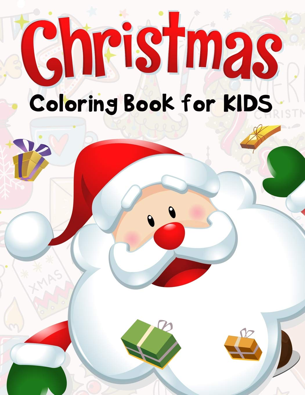 Christmas Coloring Book Kids Pages product image