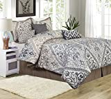 Nanshing Farren 7 Piece King Comforter Set