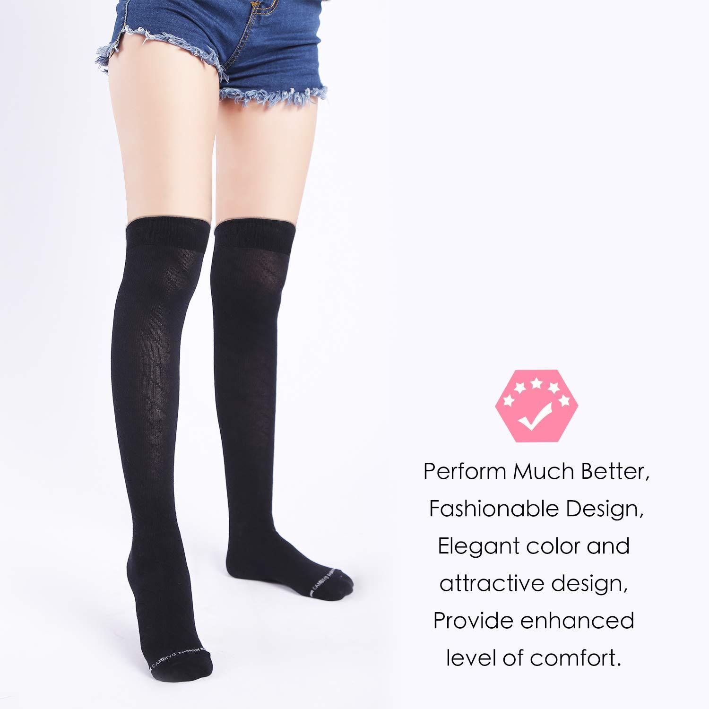 2ab8c606abf Amazon.com  CAMBIVO Compression Socks for Women