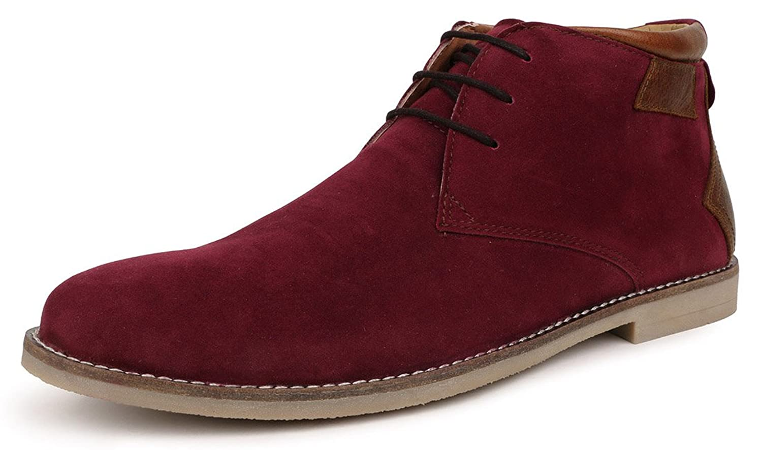 Escaro Men's Casual Lace Up Chukka Boots