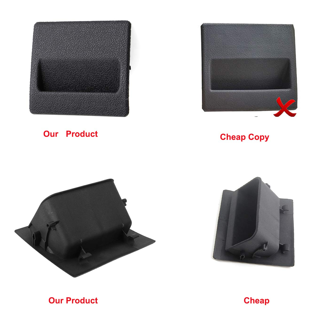 Ketofa Car Fuse Box Coin Holder Inner Storage Tray Container for Subaru XV Crosstrek Forester WRX Impreza Outback Fuse Box Coin Container 4350412406