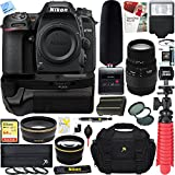 Nikon D7500 20.9MP DX-Format Digital SLR Camera + Sigma 70-300mm Macro Telephoto Lens Tascam Video Creator Bundle