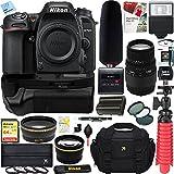Nikon D7500 20.9MP DX-Format Digital SLR Camera + Sigma 70-300mm Macro Telephoto Lens Tascam Video Creator Bundle