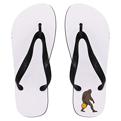 Bigfoot Sasquatch Flip Flops Sandals for Men Women 7fcf07140