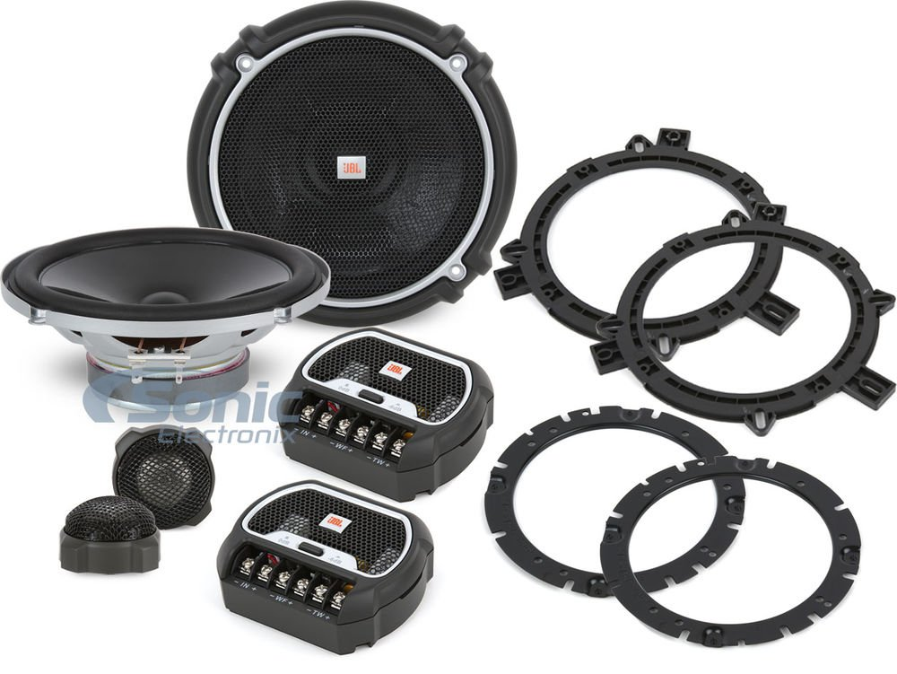 """JBL 6-1/2"""" 2-Way Grand Touring Series Component Car Speakers System"""