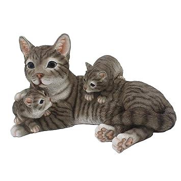 Amazon.com: CITONG - Decoración para jardín de gatos: Jardín ...